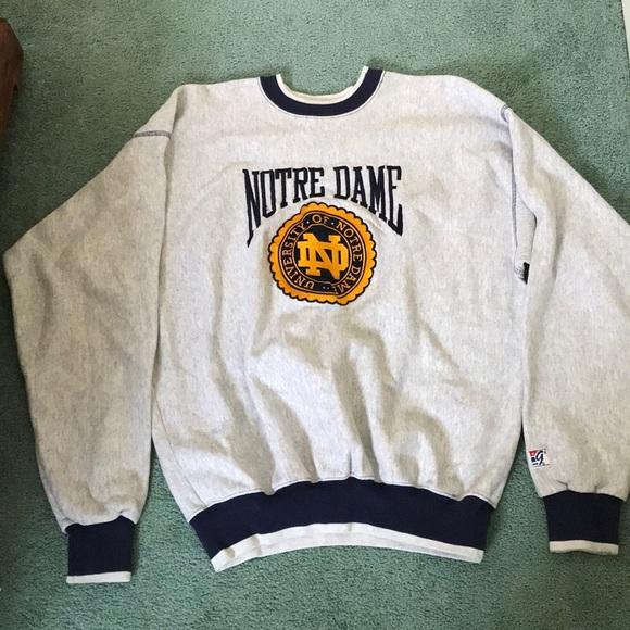 Shirts Vintage Notre Dame Sweater Poshmark